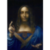 "Salvator Mundi (Da Vinci)  19.6"" x 37.8""  Egg tempera on panel  POR"